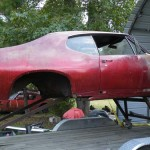 1968 GTO Arrives For Restoration.